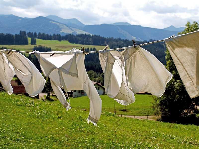 Vestiti nuovi: lavali prima di usarli